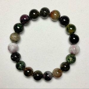 Natural Tourmaline Gemstone Bracelet